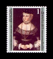 Lithuania 1996 Mih. 608 Europa. Famous Women. Barbara Radziwill. Painting Of Lucas Cranach The Elder MNH ** - Lituania