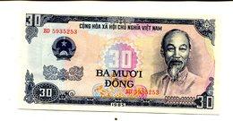 VIETNAM 30 DONG 1985 UNC 2.25 - Vietnam