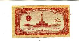 VIETNAM 1 DONG 1958 UNC 2.25 - Vietnam