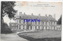 Normanville Facade Du Chateau Environs Fauville - Autres Communes