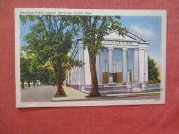 - Massachusetts > Nantucket Island  Library    .  Ref 3990 - Nantucket