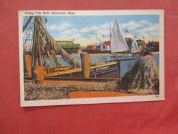 - Massachusetts > Nantucket Drying Fish Nets      .  Ref 3990 - Nantucket