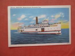 Steamer  Nantucket       .  Ref 3990 - Nantucket