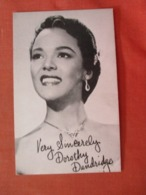 Arcade Card  Blank Back Dorothy Dandridge  >   >ref 3990 - Artistas
