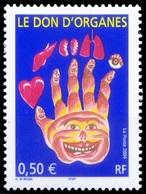 France 2004 MNH, Organ Donation, Medicine, Health - Medizin