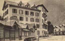 CHAMONIX MONT BLANC International Hotel Et La Gare Voiture Service De L'Hotel Charlet RV - Chamonix-Mont-Blanc