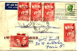 30815 - De SYDNEY Pour La France - 1952-65 Elizabeth II : Pre-Decimals