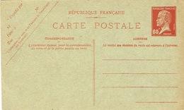 France Entier Postal PAP Carte Postale Postcard Postkarte  Timbre Pasteur 60 C Neuve BE - Entiers Postaux