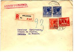 30816 - Pour La France - Covers & Documents