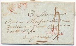 ORNE LAC 1807 59 / L AIGLE ( ROUGE ) INDICE 10 COTE 70 EUROS - 1801-1848: Precursores XIX