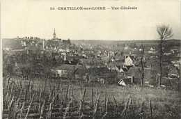 CHATILLON Sur LOIRE (Loiret) Vue Generale   RV - Chatillon Sur Loire