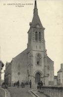 CHATILLON Sur LOIRE (Loiret) L'Eglise Animée   RV - Chatillon Sur Loire