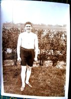 ATHLETISME 1900 COURSE A PIED CIRCUIT DE L'EST CROSS  ROBERT   EN TENUE DE SPORT VOIR SES MAINS   1912    18 X 13 CM - Sports