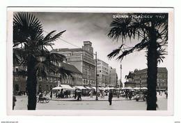 ZAGABRIA:  LA  PIAZZA  DEL  MERCATO  -  FOTO  -  FP - Halles