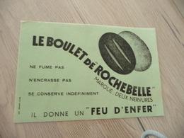 Buvard Original Thème Mines Charbon  Le Boulet De Rochebelle - Papel Secante