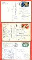 POLINESIA FRANCESE -  LOTTI E COLLEZIONI  -STORIA POSTALE - LOTTO DI 5  CARTOLINE - Collections, Lots & Séries