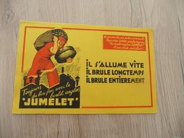 Buvard Original Thème Mines Charbon  Le Boulet Anglais Jumelet - Papel Secante