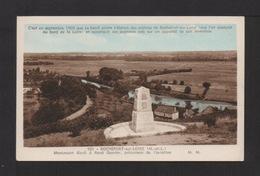 CPSM . 49 . ROCHEFORT-sur-LOIRE . Monument élevé à R. Casnier, Précurseur De L'Aviation  . - France
