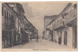 AGLIANO - ASTI - VIA MAESTRA - VIAGGIATA 1925 - Asti