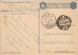 (CM).Franchigia Milizia Volontaria Sicurezza Nazionale.Deposito Camicie Nere (237-a17) - Guerre 1939-45