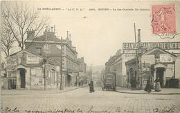 ROUEN - La Rue Centrale, Ile Lacroix. - Rouen