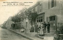 Chaux Des Crotenay  Hotel De La Poste ...(état) - Autres Communes
