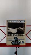 Ancienne Publicité De 1982 Objectif Appareil Photo Minolta - Supplies And Equipment