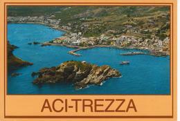 ACITREZZA - ISOLA LACHEA - VEDUTA AEREA - VIAGGIATA - Altre Città