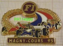 F1  MAGNY-COURS  95 1995 WILLIAMS RENAULT  FERRARI Cartouche Grenat En Version ZAMAC - F1