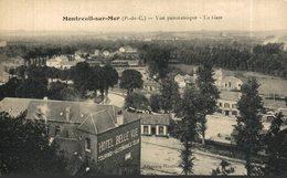Montreuil Sur Mer - Vue Panoramique - La Gare.  Francia // France. - Montreuil