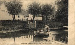 La-Madeleine-sous-Montreuil, La Grenouillère.  Francia // France. - Montreuil