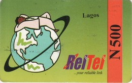 *NIGERIA* - Scheda Usata (retro Differente) - Nigeria