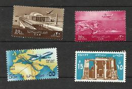 Egypte Poste Aérienne N°88, 89, 113, 171 Neufs** Cote 4.25 Euros - Poste Aérienne