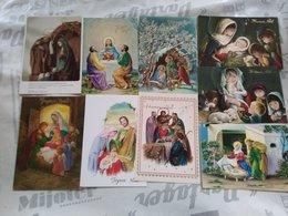 Lot 17 Cartes - Themes Creches Noel - Noël
