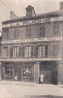 Carte Photo à Identifier 1903 La Ruche Comptoir D'alimentation ( Cachet Férovière Blois à Orléans ) - France