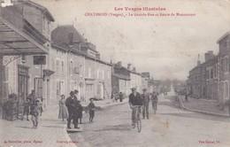 Chatenois La Grande Rue Et Route De Mannecourt - Chatenois