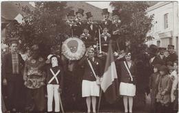 76     Forges Les Eaux Carte Photo  Fete 1928 - Forges Les Eaux