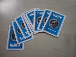 Quelques Cartes Jeu TINTIN - Trading Cards