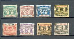 SEN 455 - YT Taxe 4 à 6 * - 7 (*) - 8 (*) - 9 * - 10 (*) - 11 (*) - Senegal (1887-1944)