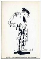 SINE  Dessin 1961 - Mon Procès Georges ARNAUD - POLITIQUE - DE GAULLE (guerre Algérie)  - MILITAIRE Chant Marseillaise - Sine