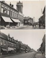 2 Cartes Postales Ancienne Brillantes De Billy Montigny ( 62 )rue Jean Jaurès Et La Route Nationale - France