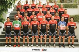 Cyclisme, Groupe Trek 2017 - Cyclisme