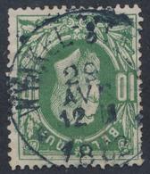 "émission 1869 - N°30 Obl Relais Partielle ""Wynkel - St - Eloy"" / COBA : 50- - 1869-1883 Léopold II"