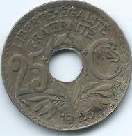 France - 25 Centimes - 1925 - KM867a - France