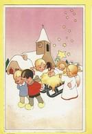 * Fantaisie - Fantasy - Fantasie * (Colorprint Special 1443) église, Angelot, Angel, Enfant, Creche De Noel, Jesus - Kerstmis