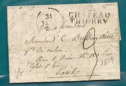 MP 2/CHATEAU THIERRY (Aisne). LAC De 1829 - 1801-1848: Precursores XIX