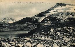 COL DE LA VANOISE -73- LE LAC LONG ET POINTE DE LA RECHASSE - Pralognan-la-Vanoise