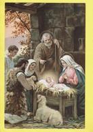 * Fantaisie - Fantasy - Fantasie * (Tip. S. Lega Eucaristica Milano) Crèche De Noel, Nativity Scene, Mouton, Jesus, TOP - Christmas