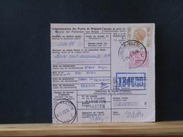 A12/211  DOC.  BELGE 1976 VIREMENT POUR LA FRANCE - 1970-1980 Elström