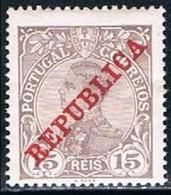 Portugal, 1910, # 173, MH - 1910 : D.Manuel II
